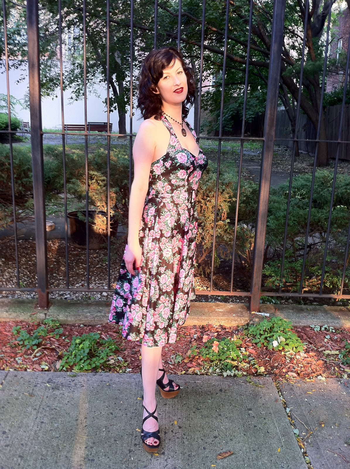 Outfit post: Hell Bunny Vixen dress