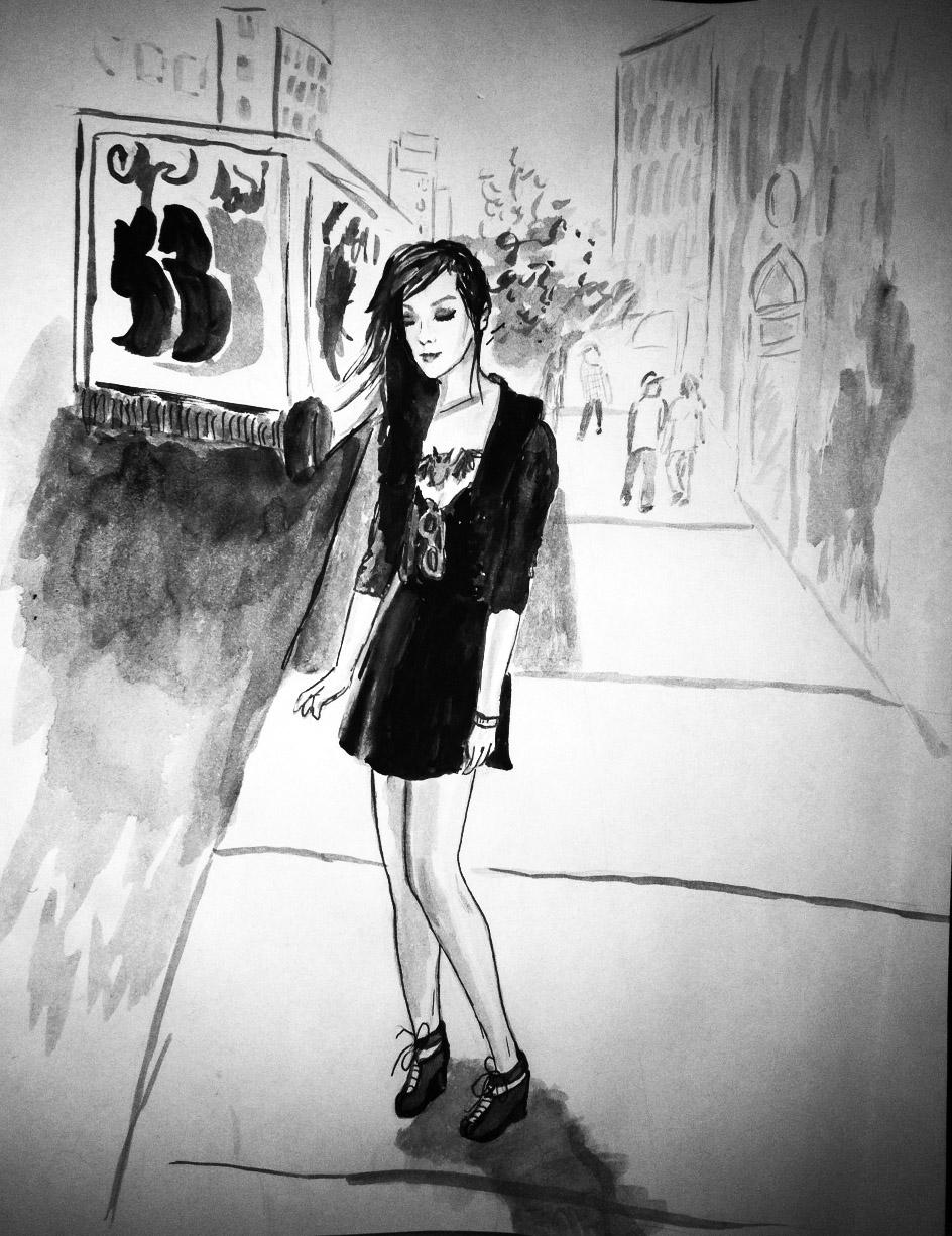 Batgirl on 23rd Street