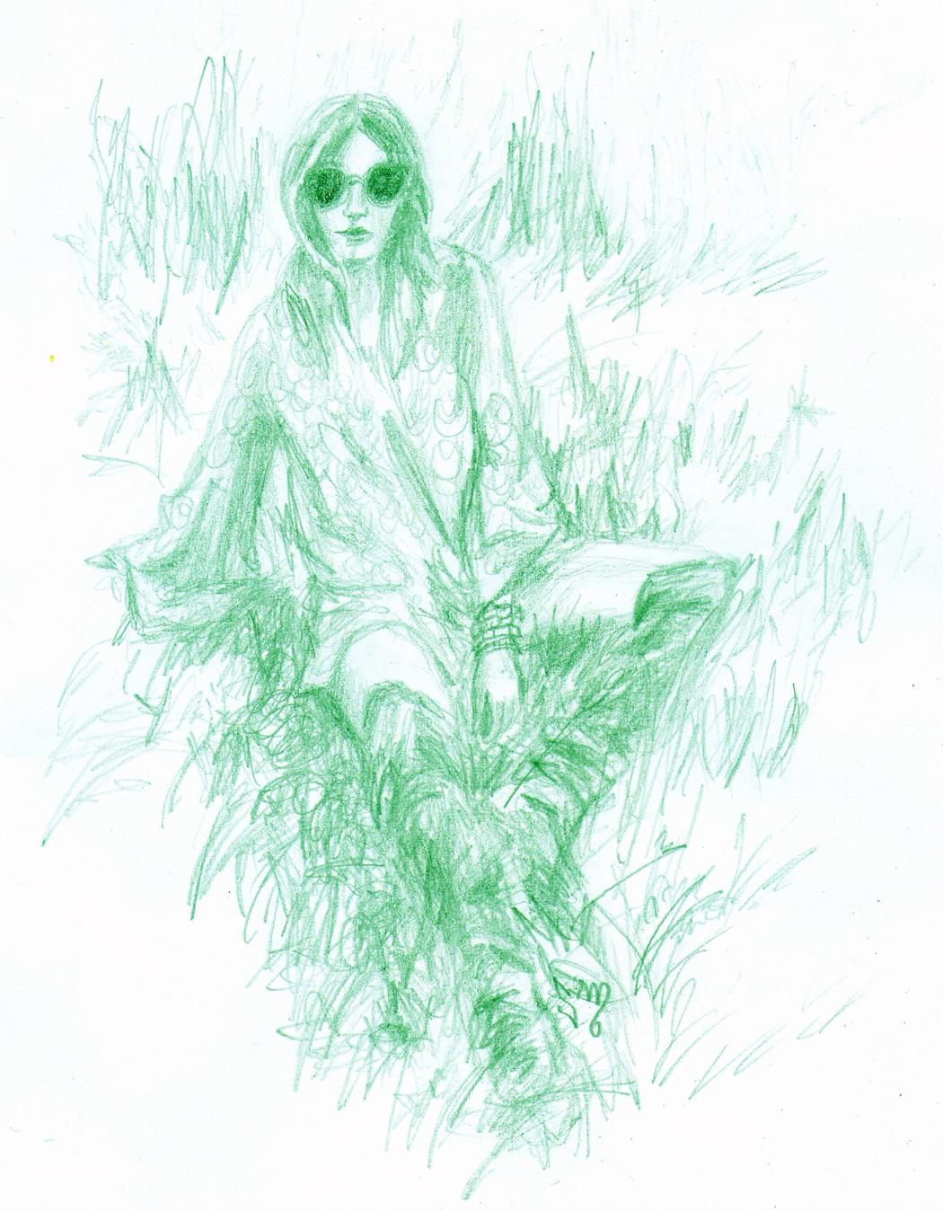 Feelin' Sketchy: Ashley of Purse N Boots