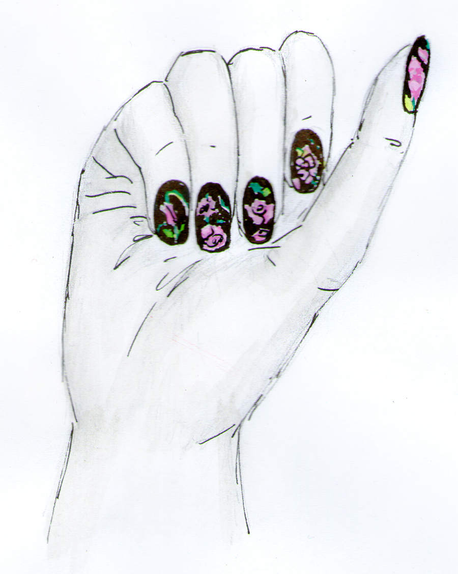 Nail Art Decals Sure Are Having a Moment