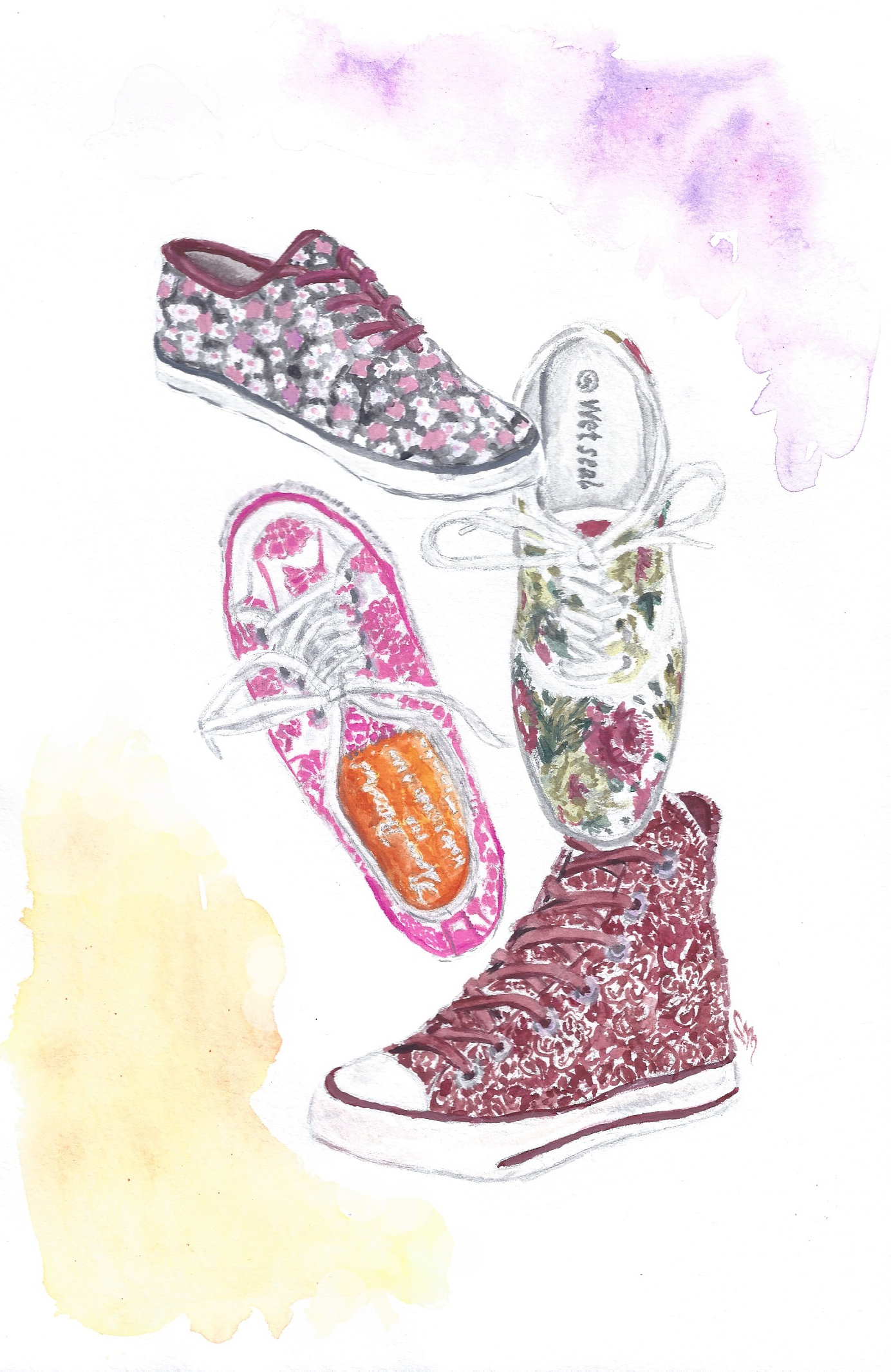 Obsession of the Moment: Floral Sneakers