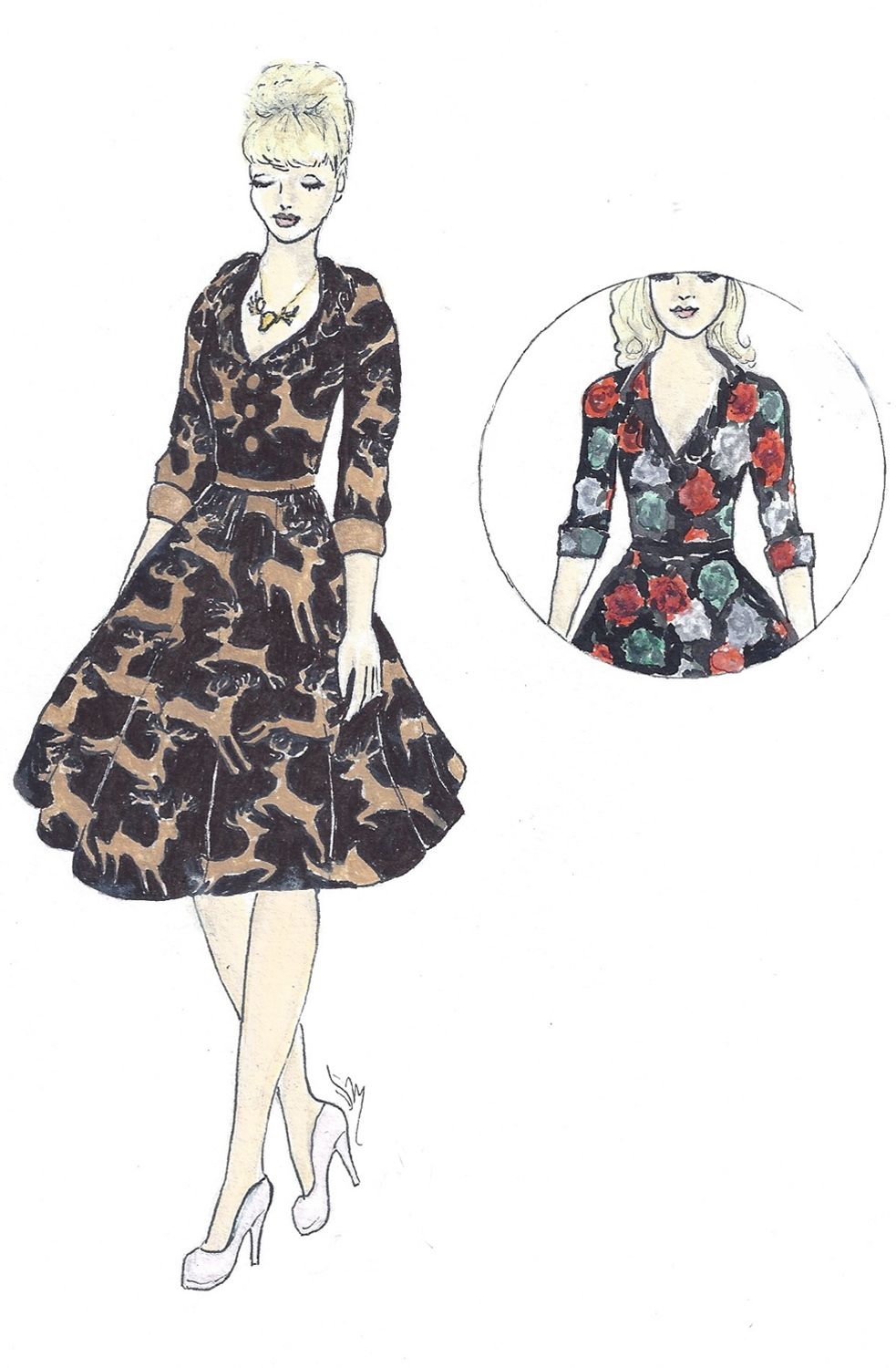 Modcloth Make the Cut Contest Voting and Giveaway for… a Portrait of You