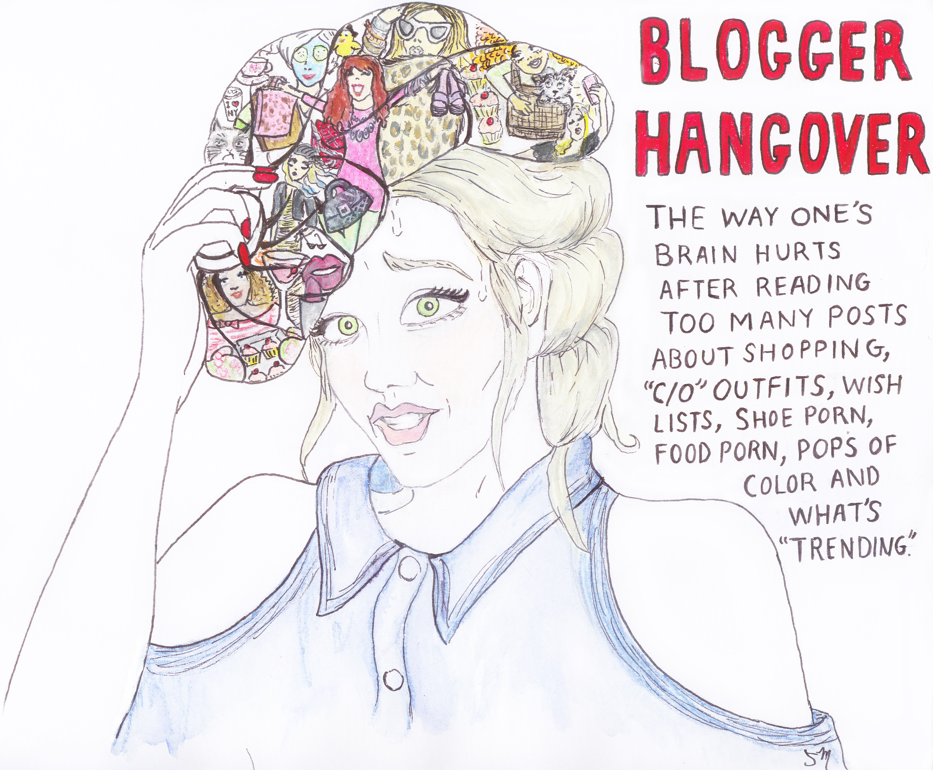 Blogger Hangover: Anyone Else Feeling This Way Lately?