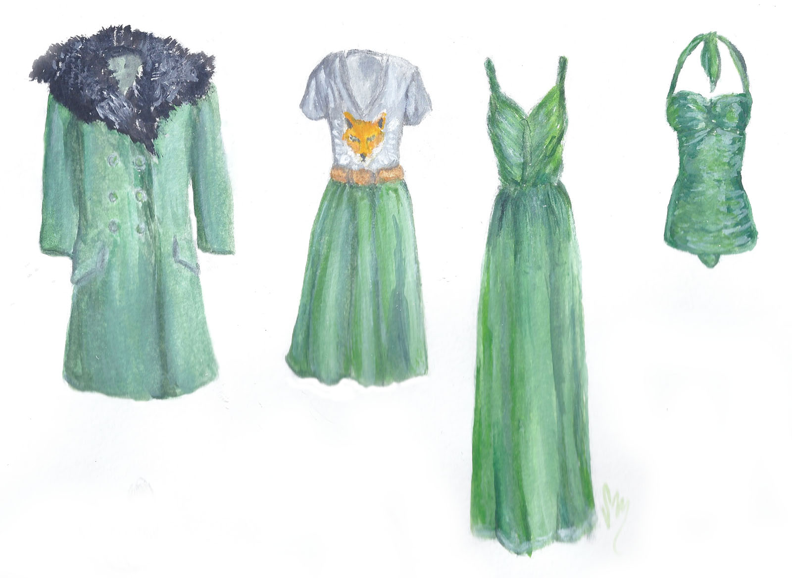 Emerald City: A Few Looks in Pantone's Color of the Year