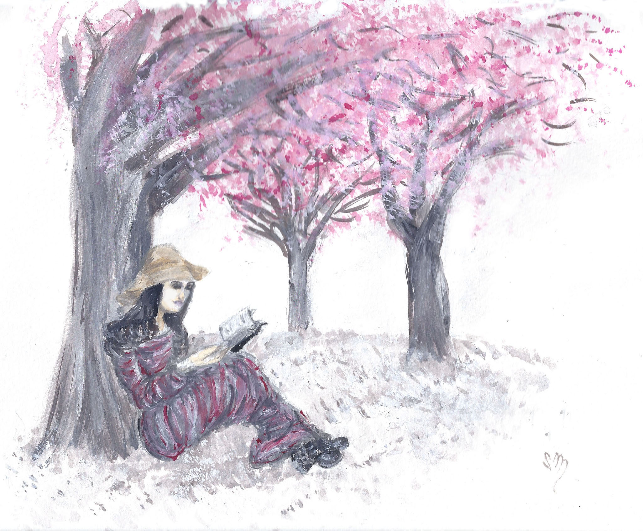 Escape Under the Cherry Blossom Trees
