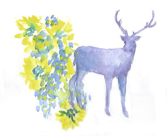 Oh Deer! Plus Apartment Art and Dress Design Update