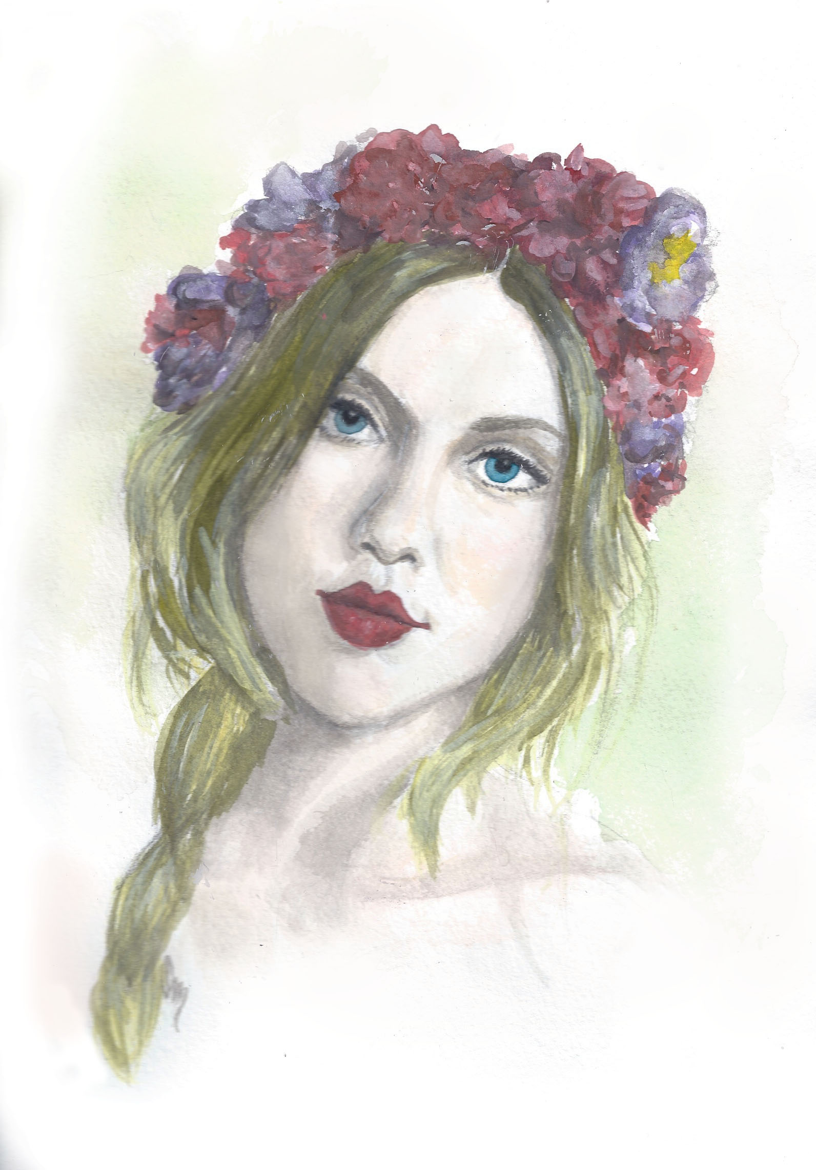 Girl with a Flower Crown: Jo of Lost in the Haze