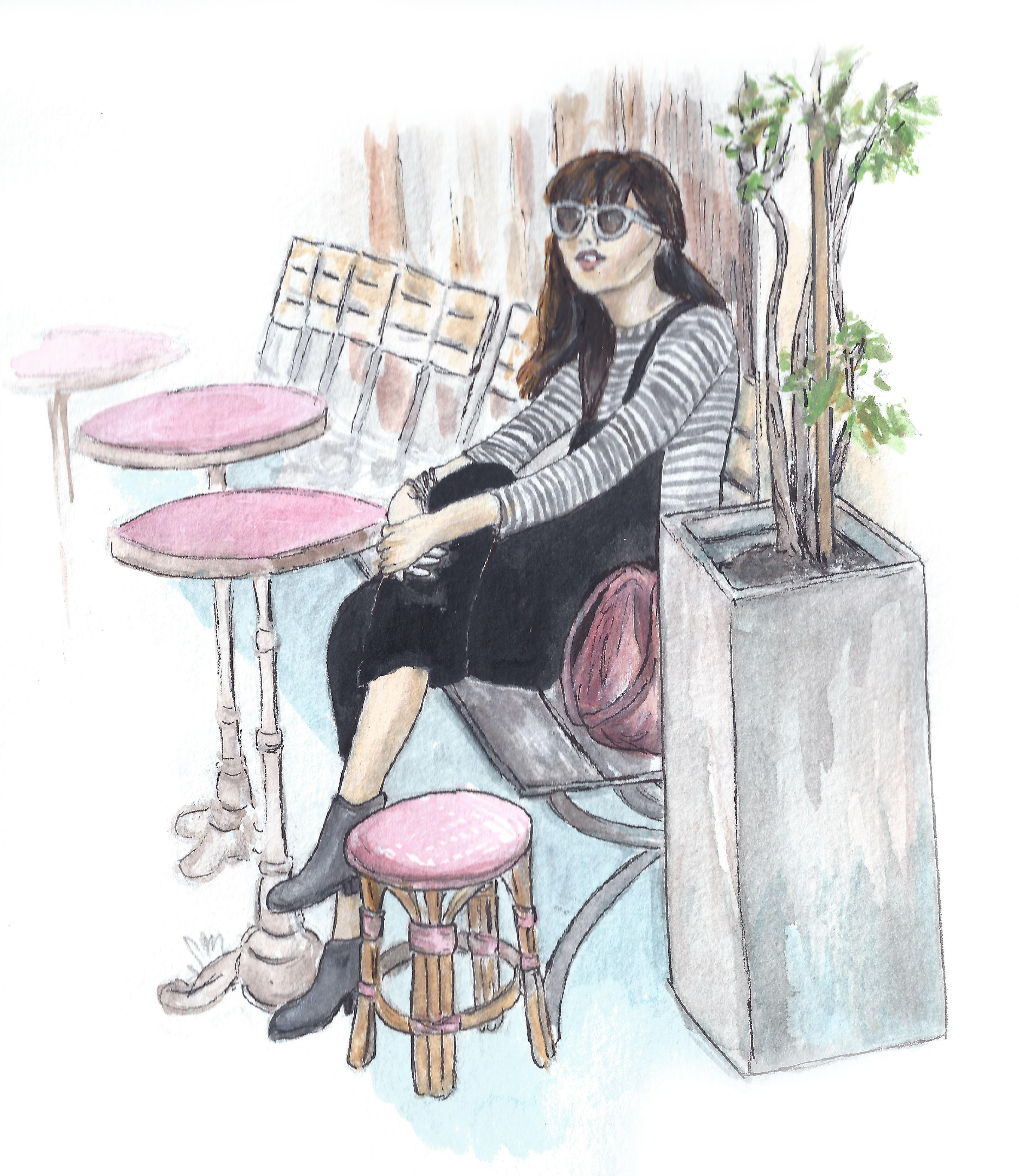 Streetside in Paris: Natalie Suarez