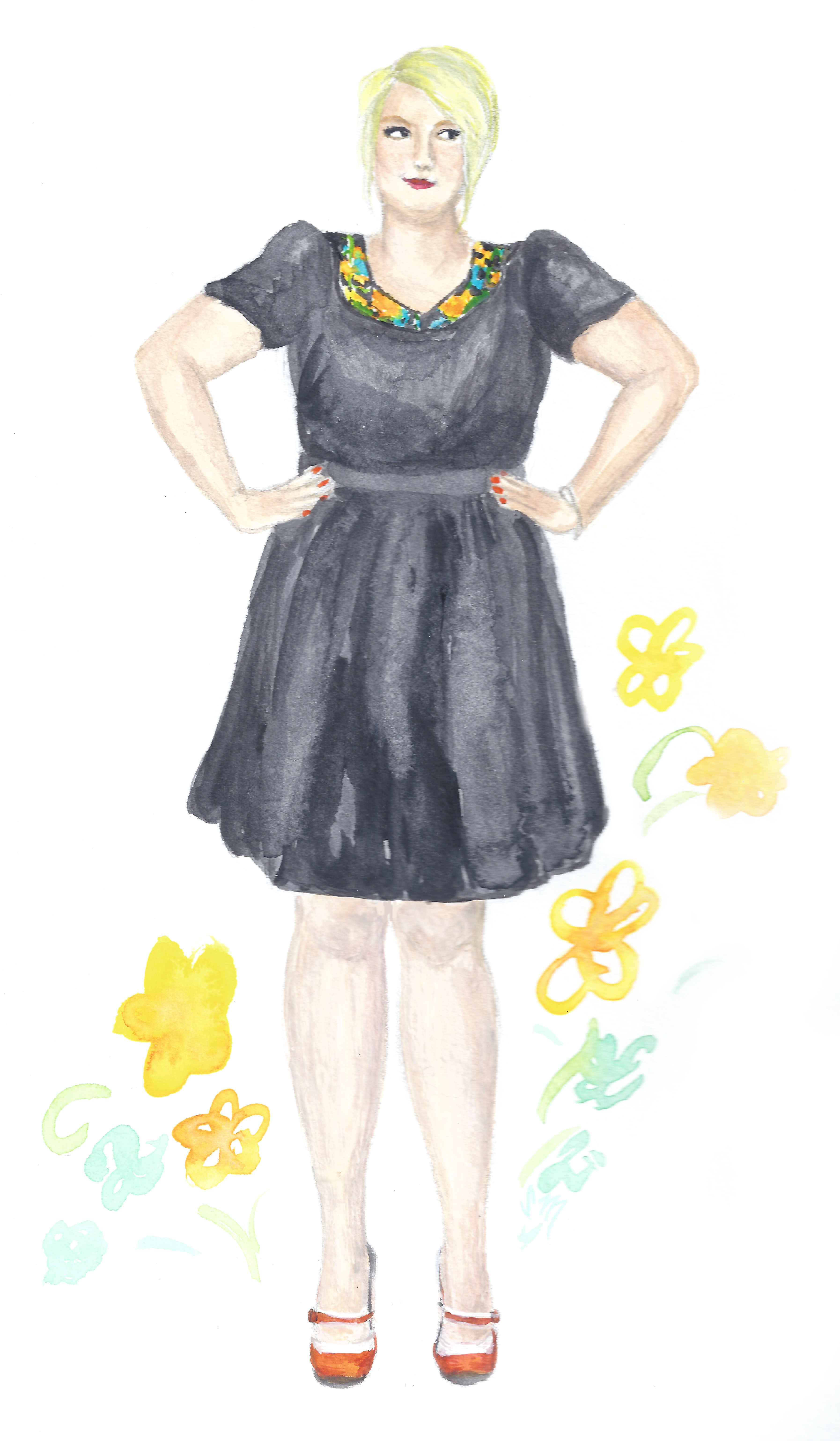 Modcloth's New Plus Size Lines as Modeled by Margie Plus
