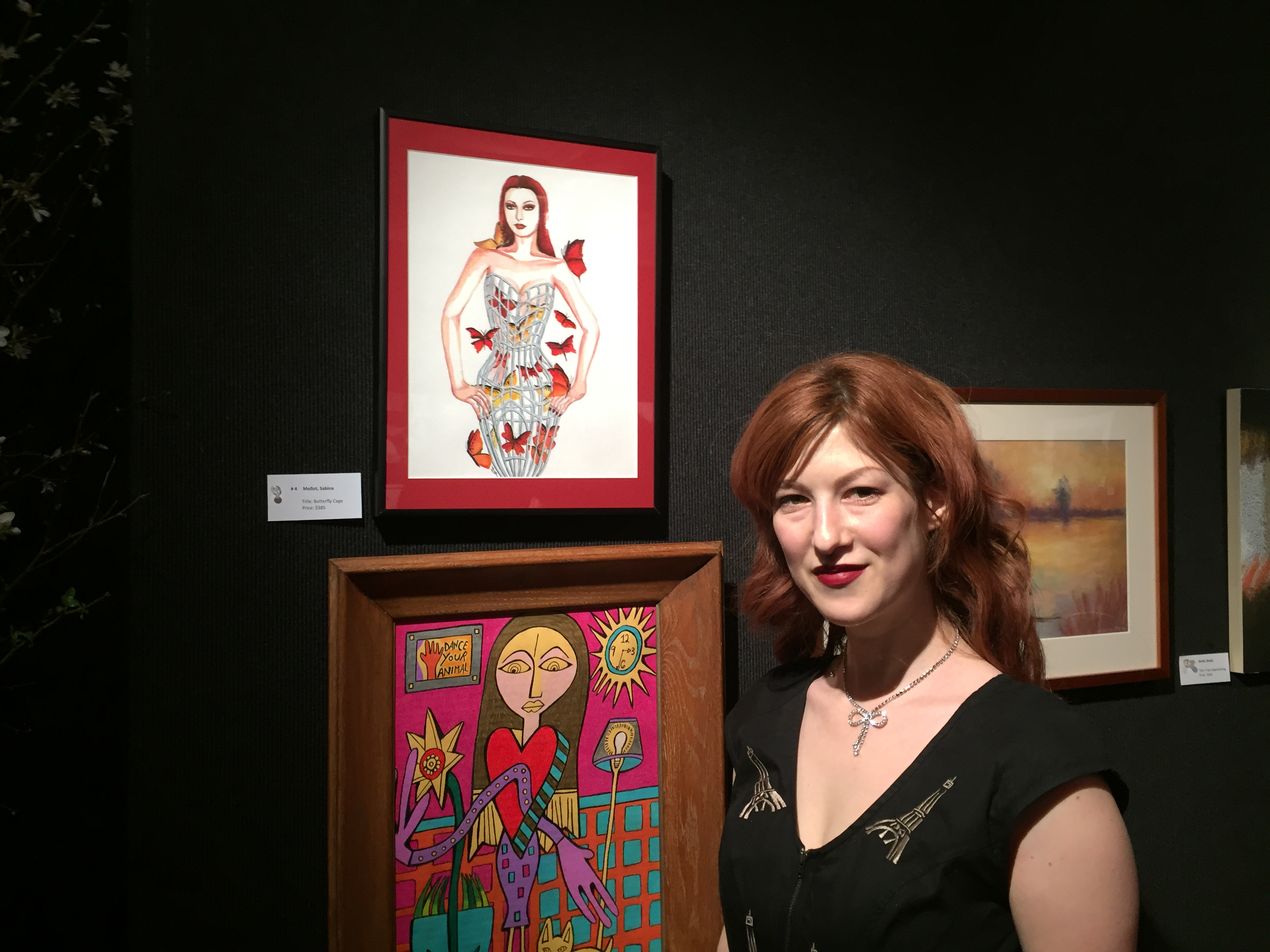 Crowds come out for group art show at National Arts Club