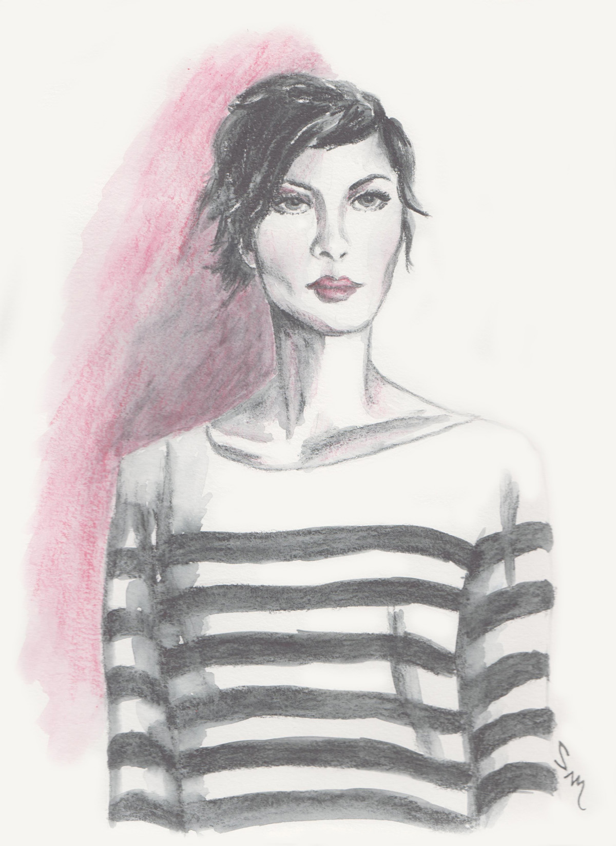 Happy New York Fashion Week: Transition to Fall in a Striped Top