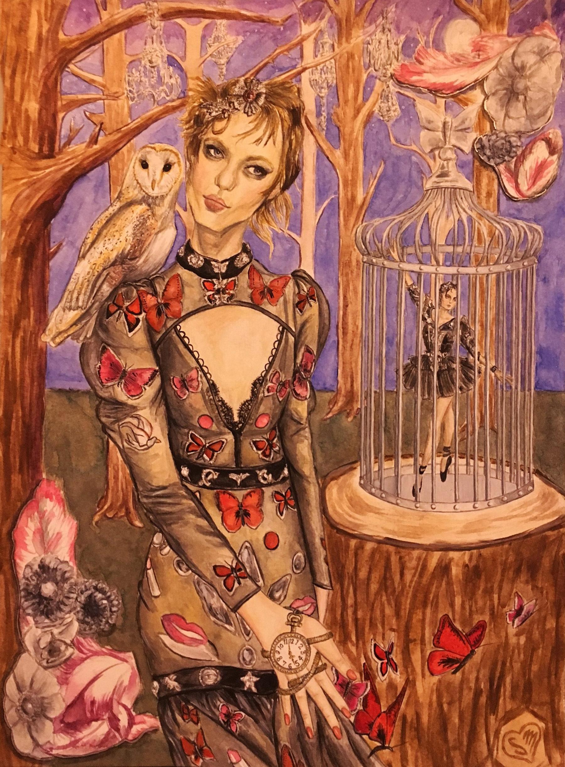 Butterflies and Ballet (Alexander McQueen)